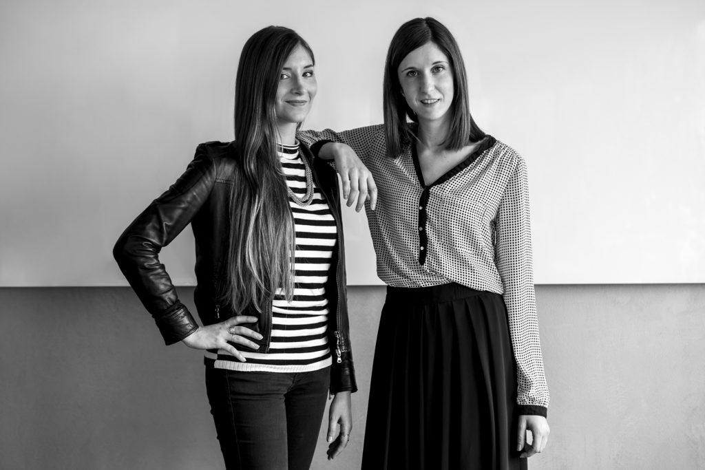Fotografia di Arianna e Sara, architetti dello studio Argo4.