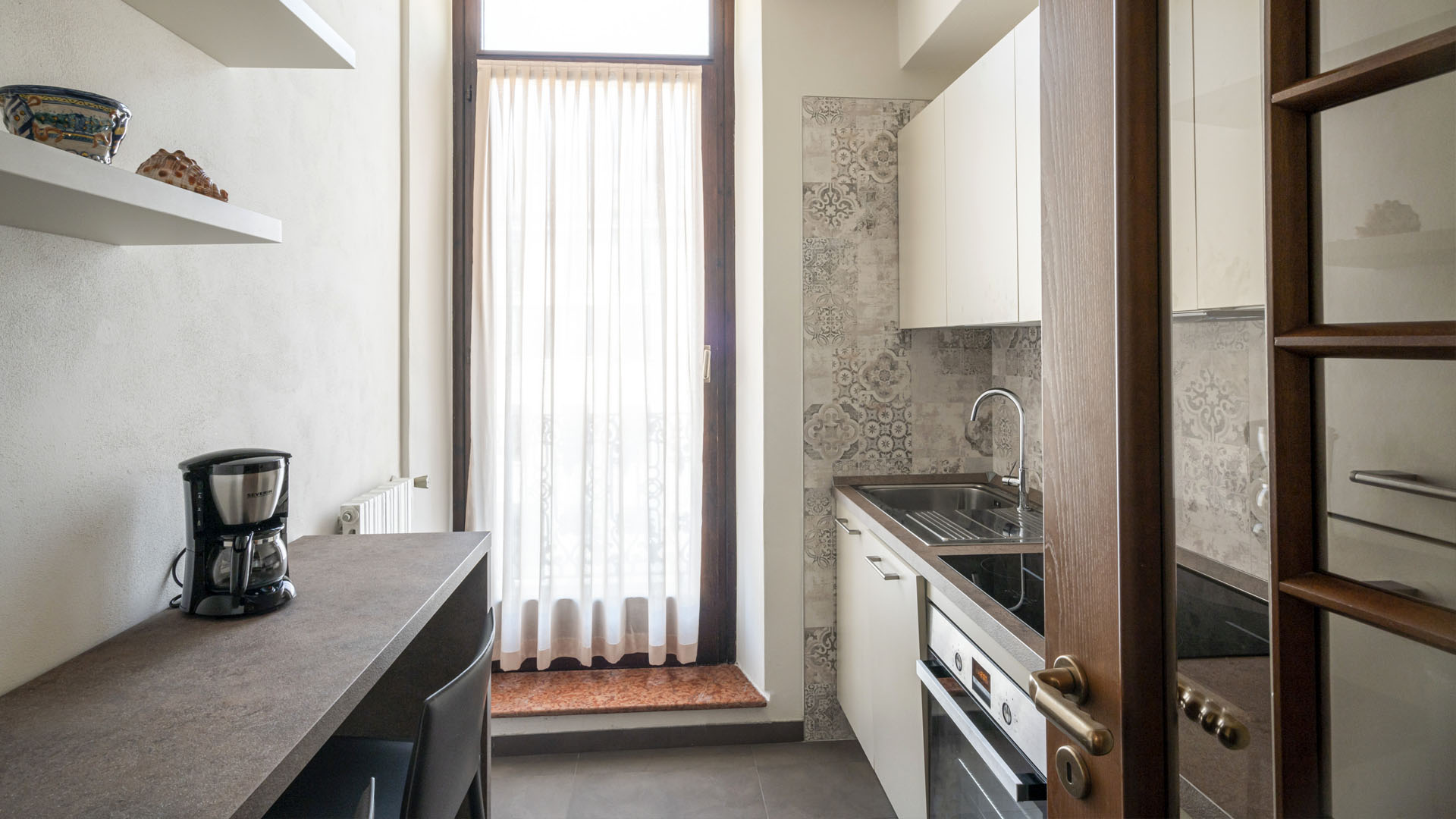 Progetto di ristrutturazione dello studio di architettura Argo4 - Fotografia della cucina
